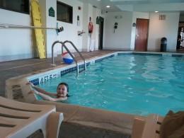 Hotel Pool at the Wyndahm