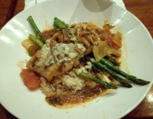This sea bass item cost $29.99 at the Claim Jumper restaurant. Would it have cost less to make it at home?