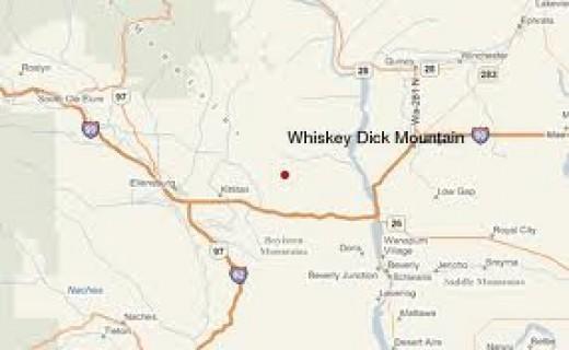 Whiskey Dick Mountain, Washington