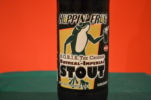 "Hoppin""Frog Oatmeal Imperial Stout"