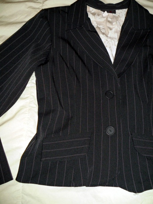 It's hard to go wrong with pinstripes.