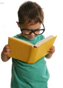 Reading books from young makes the usage of proper English natural.
