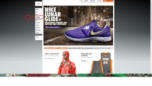 №1 Clicking on NikeId