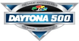 The 2012 Daytona 500 logo