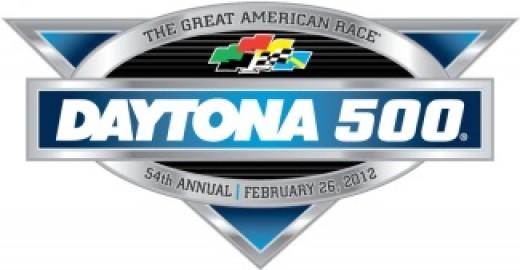 The 2012 Daytona 500 logo