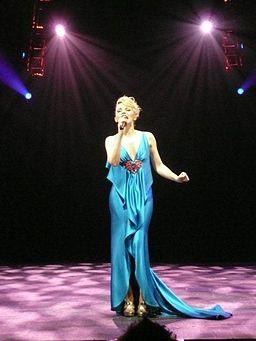 Kylie in Berlin in July 2008