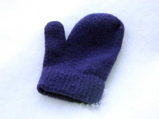 The Single Purple Mitten