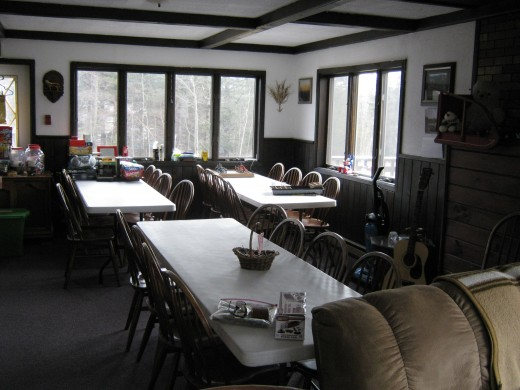 The hiker's common room