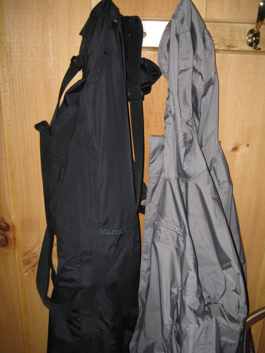 Little touches like multiple hooks to hang drying gear abound.