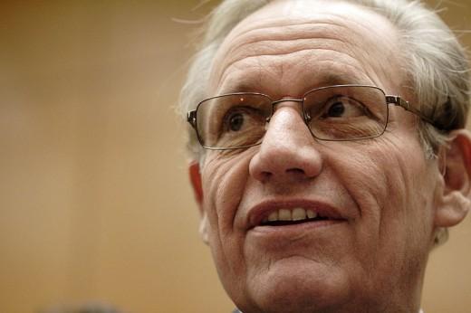Bob Woodward today, an author and editor at The Washington Post.
