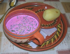 Beet Soup without the Noodles