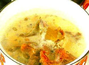 Boil Chops in milk