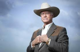 Larry Hagman as J. R Ewing