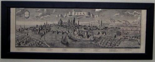 Vintage Pisa Print