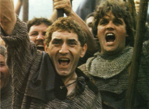A scene from the 1985 Belgian movie The Lion of Flanders.