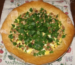Yes you can make a pie out of radishes and its delicious.
