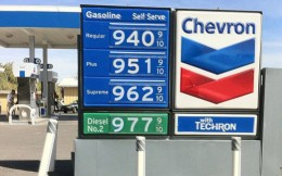 Gas in Death Valley, Calif.-The extreme!