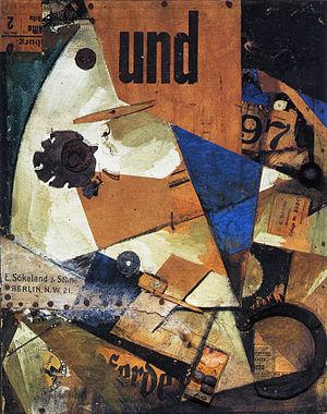 Kurt Schwitters, Das Undbild, 1919, Staatsgalerie Stuttgart