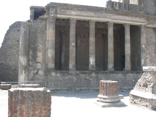 Visiting Pompeii takes the traveler back in time.