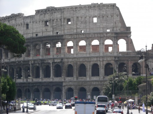 The Coliseum is just one of the amazing structures that you will find in the city of Rome.