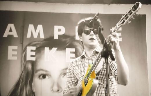 """- Ezra Koenig of """"AMP EEKE"""", well actually, """"Vampire Weekend"""" performing live -"""