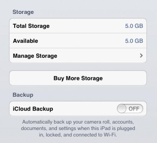 iCloud brings a free 5GB storage