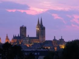 Coutances, another of William's allies was Geoffrey, the bishop of this imposing cathedral city