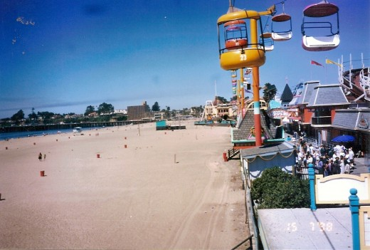 Santa Cruz Boardwalk Amusement Park