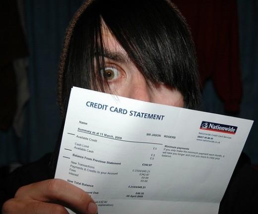 The Credit Card Bill