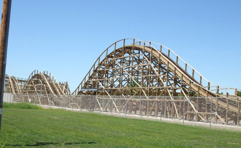 The Zippin Pippin roller coaster was one of the top 2011 tourist attraction destinations in the Green Bay (Wis.) area.