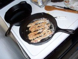 Hot Crispy Bacon....All the More to Season With!