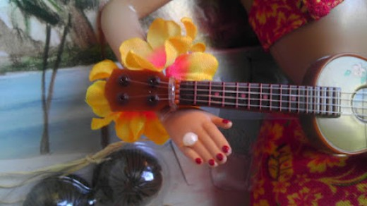 Hula Honey's ukelele