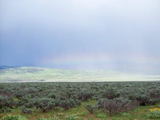 Horizontal Rainbow - Never saw that before