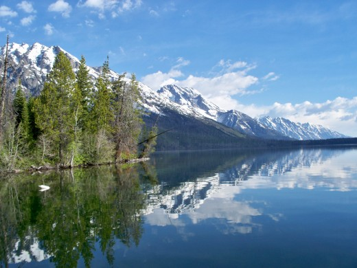 Shuttle boat ride to hiking area at Jenny Lake