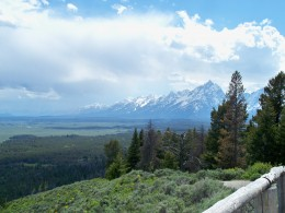 Tetons as viewed from Signal Mtn