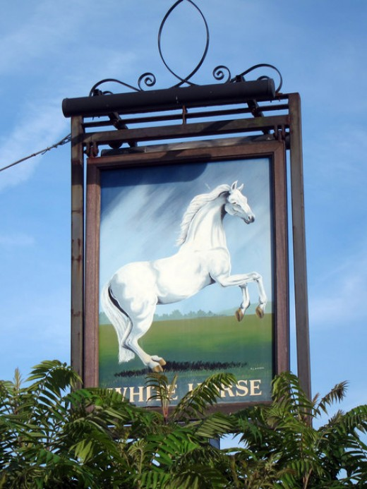 The White Horse wins 4 points!