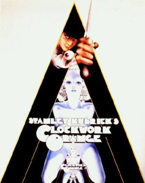 Movie Poster for Clockwork Orange