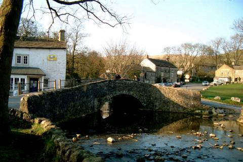 Malham village in the Yorkshire Dales