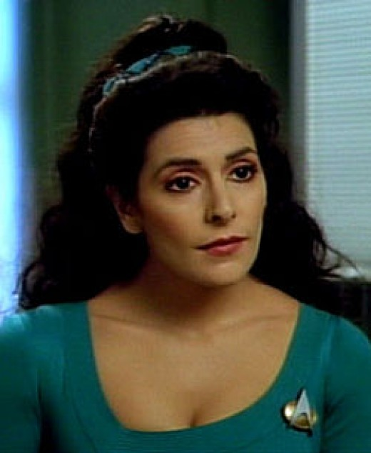 Deanna Troi from Star Trek is a INFP