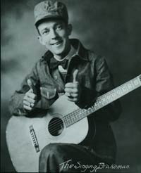 "THIS IS JIMMIE RODGERS, ""FATHER OF COUNTRY MUSIC,"" AND NOT TO BE CONFUSED WITH WILL ROGERS."