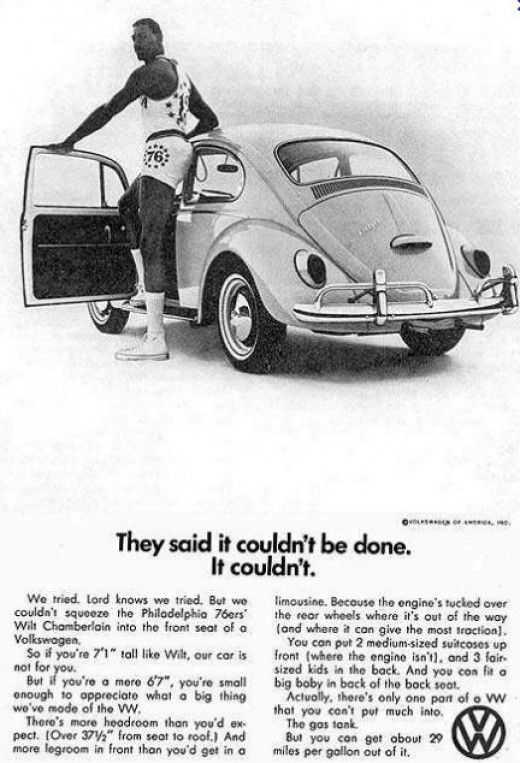 No, he did not own a VW, but it was easy money.