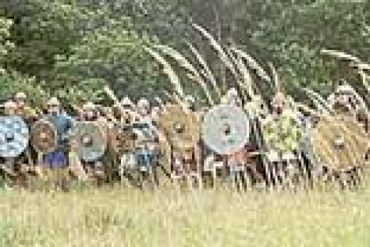 Re-enactment of the Battle of Stainmore