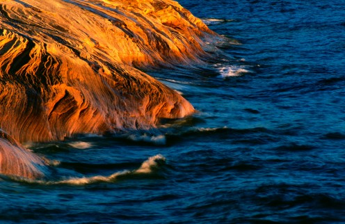 Shoreline of Lake Superior, Michigan's UP