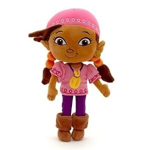 Izzy plush stuffed doll from Jake and the Never Land Pirates