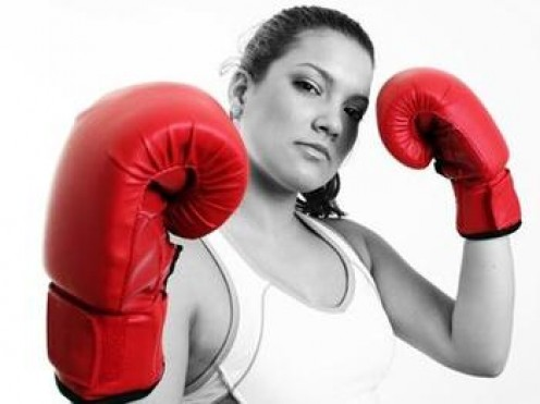 Whether its dancing, running or even a round in the ring, Exercise reduces stress and increases positive self image