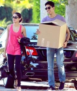 Freida Pinto and Dev Patel moving into their $1.5 million rental property in Santa Monica.