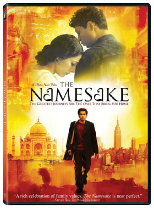 "The movie poster of ""The Namesake"""