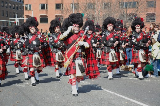 St. Patrick's Day Parade, Hartford, CT 2010