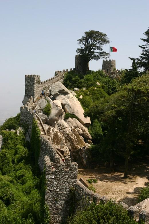 Castelo dos Mouros | The Moors' Castle - Sintra by jsucur @ www.sxc.hu
