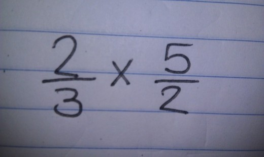 We then set up the new problem as a multiplication problem by the reciprocal